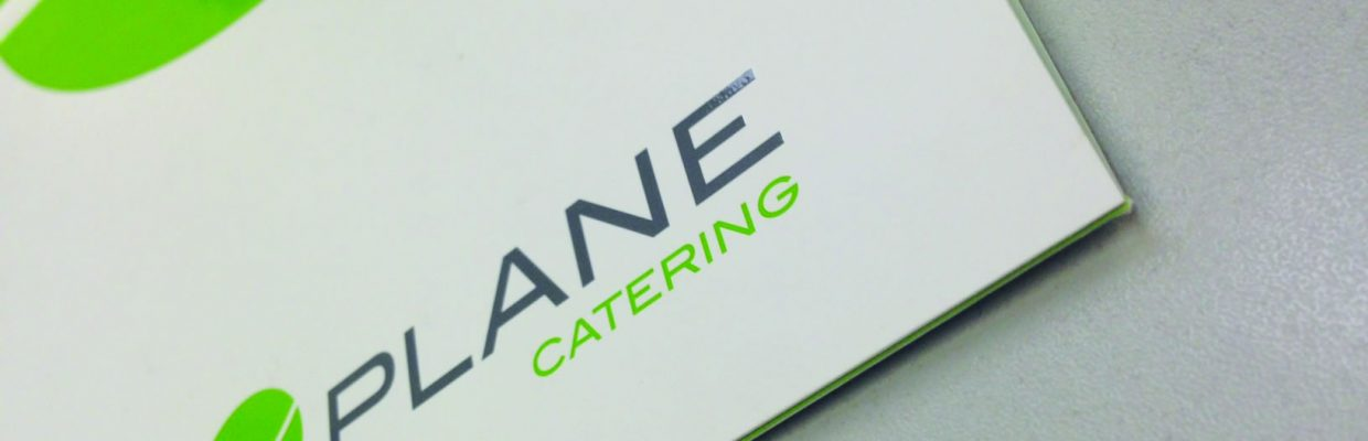 Plane Catering Folder – Spot UV & Embossing