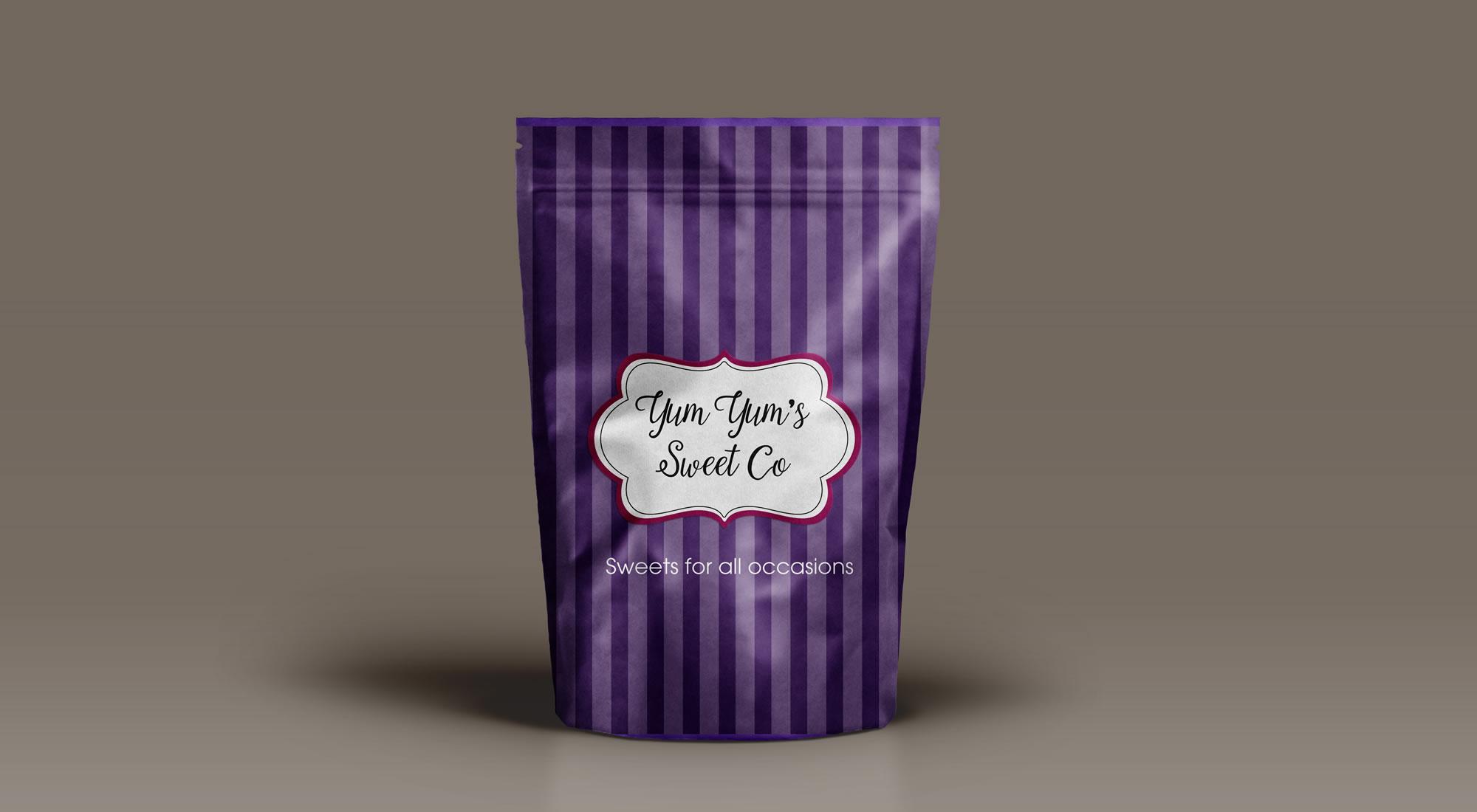 Yum Yum Sweet Company Branding