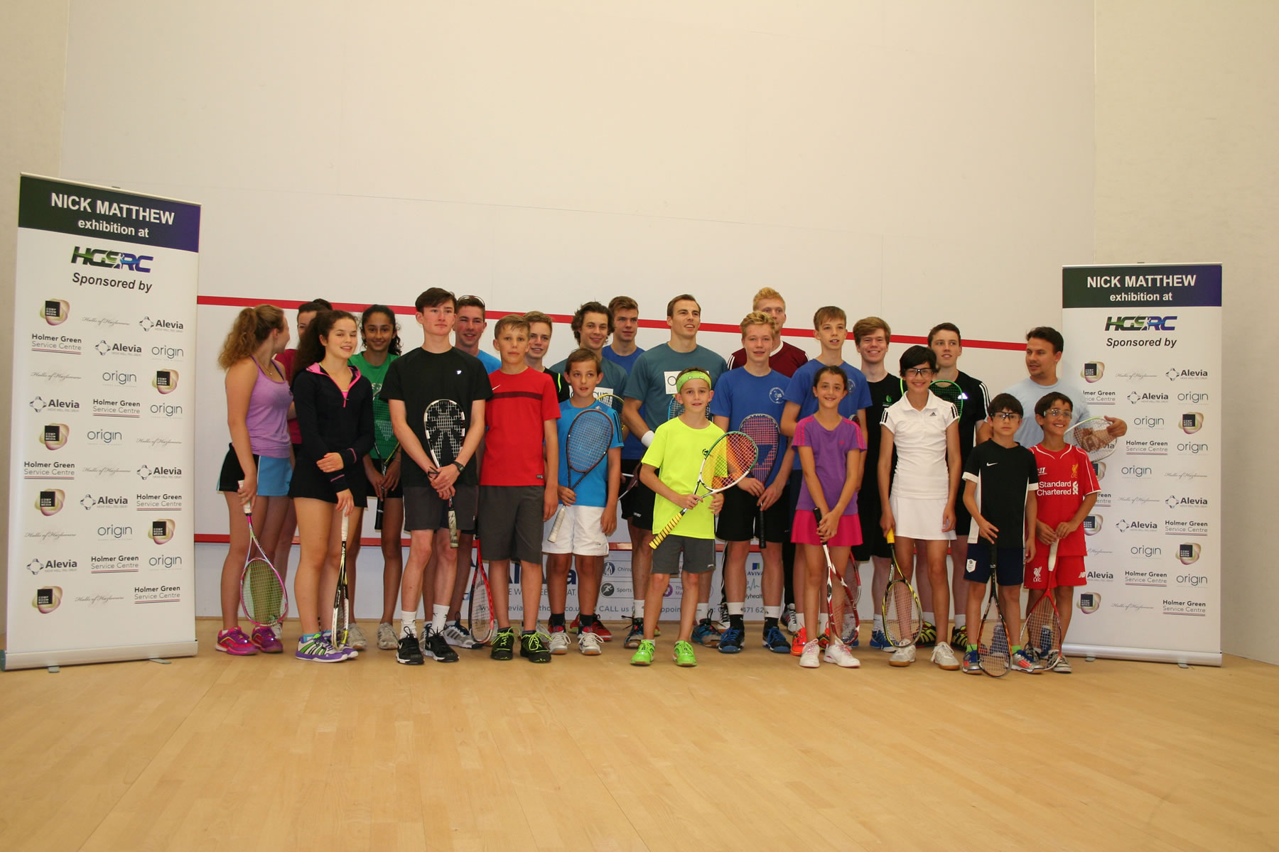 Sponsored Event at Holmer Green Squash Club
